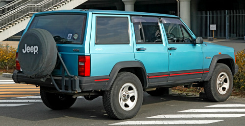 Jeep-cherokee-1984-XJ-rear
